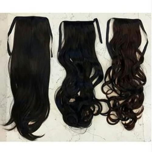 Foto Produk Hairclip Ponytail / Ikat Number One Ekor Kuda / Tali / Hair Clip dari darilynn