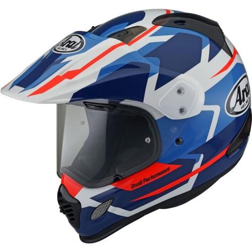 Foto Produk Arai Tour Cross 3 Depart Helm Full Face - Blue - M dari Helm Cargloss