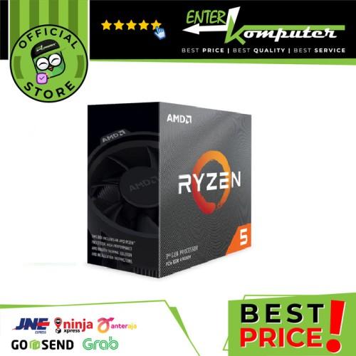 Foto Produk AMD Ryzen 5 3600 3.6Ghz Up To 4.2Ghz Cache 32MB 65W AM4 [Box] - 6 Core dari Enter Komputer Official