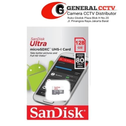 Foto Produk Memori MicroSD Sandisk 128GB dari general cctv