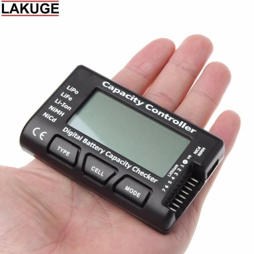 Foto Produk Digital Battery Capacity Controller Checker Li-ion LiPo LiFe NiMH Nicd dari Lakuge