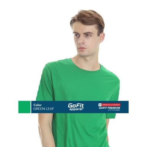 Foto Produk GoFit Premium Cotton 8600 GREEN LEAF size S dari Gofit Apparel