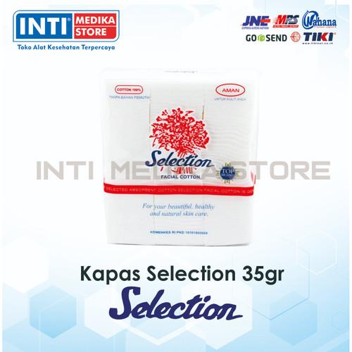 Foto Produk SELECTION - Kapas Wajah / Kapas Pembersih / Facial Cotton - 35 dari INTI MEDIKA STORE