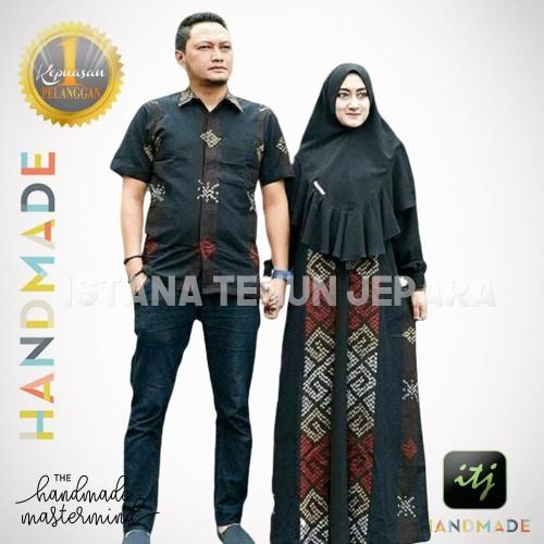 Jual Sarimbit Batik Couple Baju Tenun Troso Handmade Motif Toraja Kab Jepara Istana Tenun Jepara Tokopedia