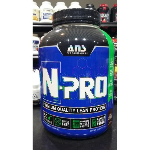 Foto Produk ANS NPRO N PRO 50 SERVINGS WHEY PROTEIN BLEND dari AW Anabolic