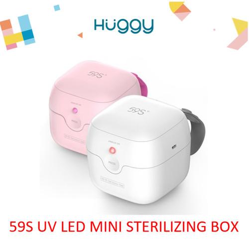 Foto Produk 59S UVC LED Mini Sterilizing Box Boks Sterilizer Mini Alat Steril - Putih dari Huggy Baby