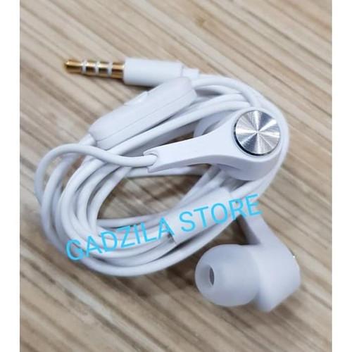 Foto Produk Handsfree Asus Zenfone ORIGINAL | Earphone Headset Ori Zenfone 4 5 6 - WHITE dari GADZILA STORE