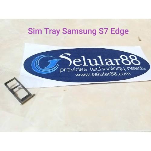 Foto Produk Sim Tray Samsung S7 Edge Slot Card SimSlot Lock SimCard SimTray G935 dari Selular88