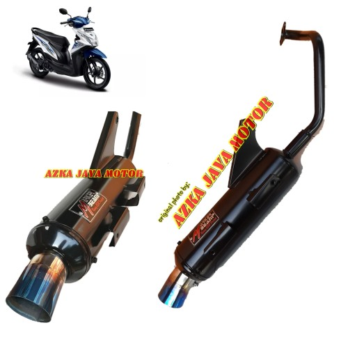 Foto Produk Knalpot Racing Bobokan Beat Fi ESP corong pelangi Marker Beam By CSR dari Azka Jaya Motor