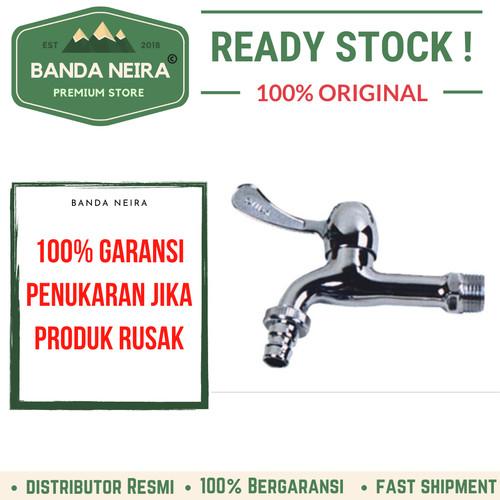"""Foto Produk Keran/ Kran Kamar Mandi Dapur Sink Tap ONDA CLS 02 1/2"""" - Perak dari Banda Neira Store"""