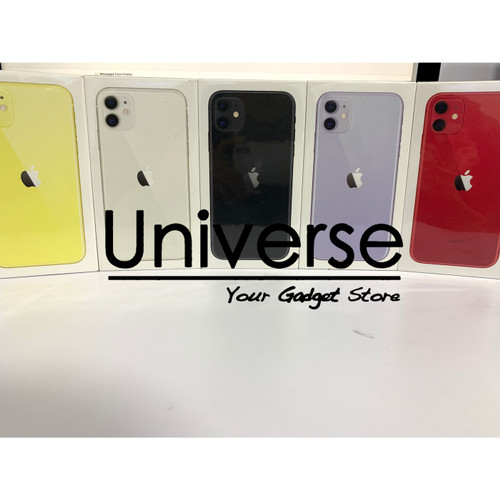 Foto Produk Apple iPhone 11 128 GB - Garansi Resmi iBox Apple Indonesia - Hitam dari Universe Store