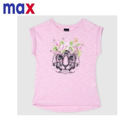 Foto Produk Baju anak atasan kaos beads tiger pink branded Max 2-6 T - 5-6 tahun dari Galeri Ona