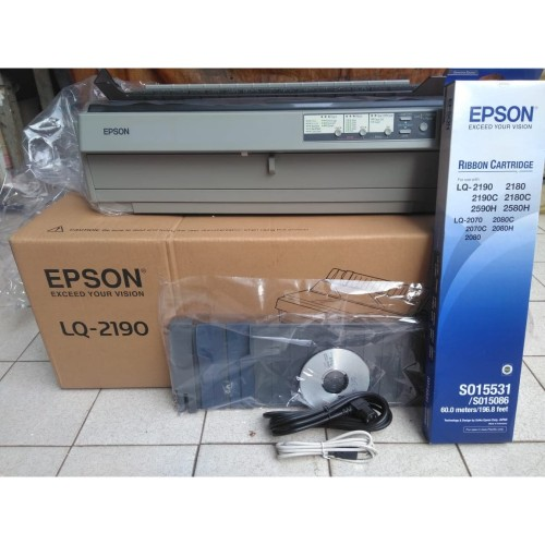 Foto Produk Printer Dotmatrix Epson LQ2190 Printer LQ-2190 New Murah Garansi Lokal dari SCMprints Printer Spesialis