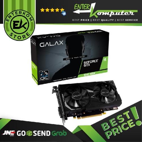 Foto Produk VGA GALAX Geforce GTX 1650 SUPER 4GB DDR6 EX (1-Click OC) - DUAL FAN dari Enter Komputer Official