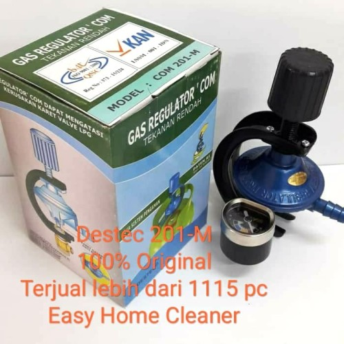 Foto Produk DESTEC Gas Regulator COM 201 - M dari EasyHomeCleaner