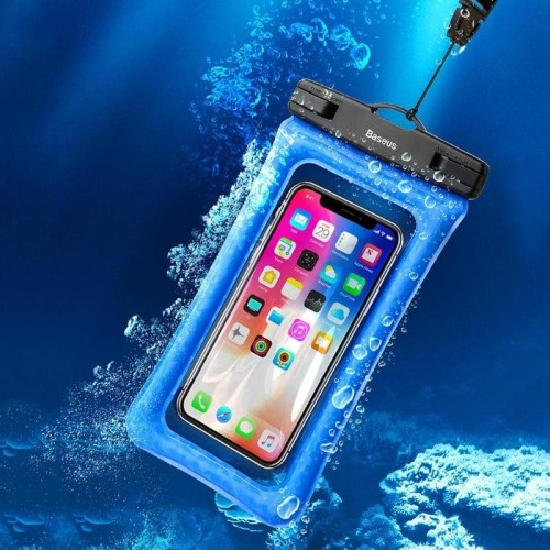 Foto Produk BASEUS IPX8 WATERPROOF POUCH CASE FOR IPHONE SAMSUNG AND ALL MOBILE dari D&D-oLshop