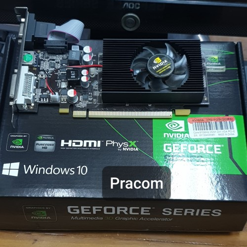 Foto Produk VGA CARD NVIDIA GT220 1GB 128BIT dari Pracom Computer