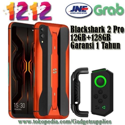 Foto Produk Blackshark 2 Pro 12GB + 128GB Orange Lava Versi Ganas 12GB dari JUALGADGETS