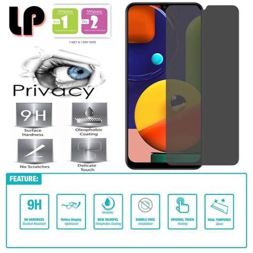 Foto Produk LP Anti-Spy Tempered Glass Samsung Galaxy A50 - A50s - A30s - Privacy dari Logay Accessories