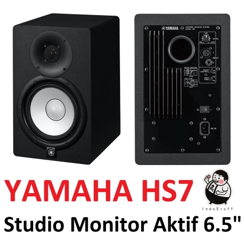 "Foto Produk Yamaha HS7 ORIGINAL Garansi Resmi - Studio Monitor Aktif 6.5"" HS-7 dari Indostuff"