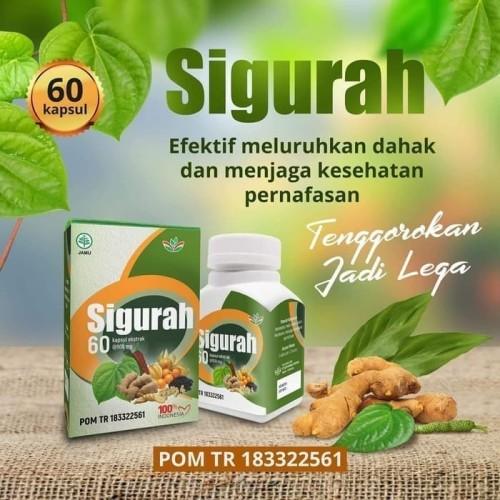 Foto Produk Kapsul Gurah Kesehatan - Sigurah Asli dari herbal shop92