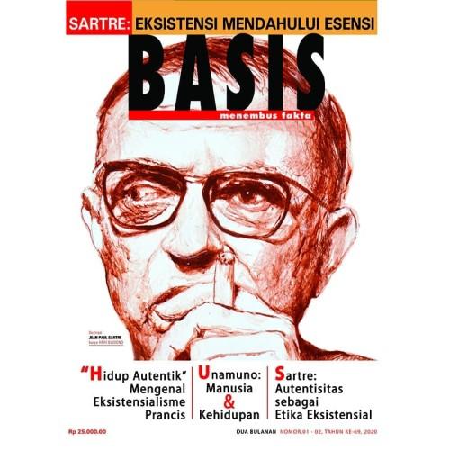 Foto Produk Majalah Basis No. 01-02, 2020 dari Toko Tjap Petroek