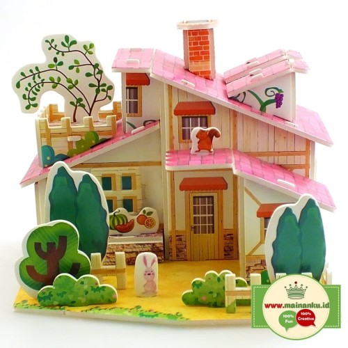 Foto Produk Puzzle 3D Mini | FARM HOUSE | Kado Anak Sekolah - 1690-33 dari Cherish Online