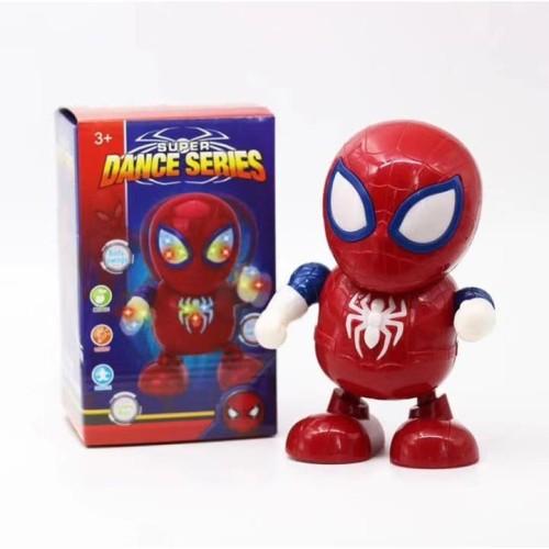 Foto Produk Mainan Robot Superhero Joget / Dancing Hero - Spiderman dari fusion21