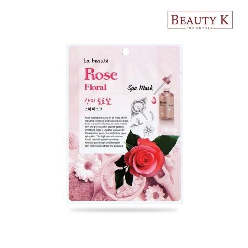 Foto Produk BeautyK La Beaute Rose Floral Spa Mask dari BeautyK Indonesia
