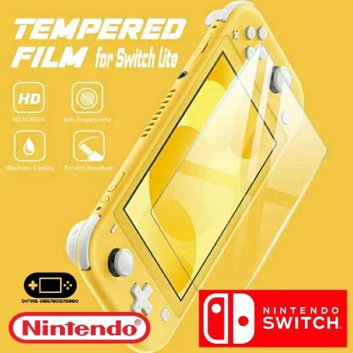 Foto Produk Tempered Glass Pelindung Layar Screen Protector Nintendo Switch Lite dari Dimas Retro Game