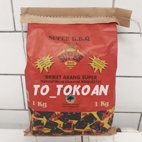 Foto Produk WEN'S BRIKET ARANG SUPER BBQ 1 KG dari T0T0K0AN