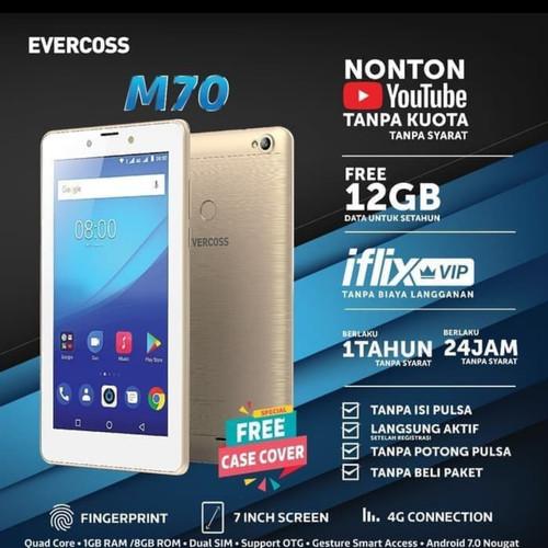 Foto Produk Evercoss Tablet M70 4G 1/8GB dari B&Cshop