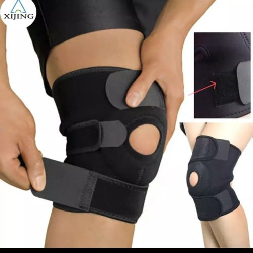 Foto Produk Deker / Dekker Lutut / Knee Support Open Patella peyangga lutut dari Toko Wiyono