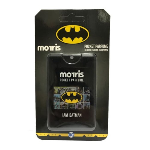 Foto Produk Morris Parfum Cowok Pocket Warnerbros Edition 18ml Batman dari Morris Parfum