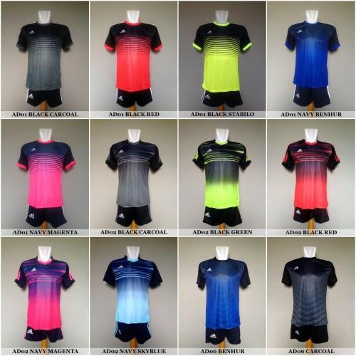 Foto Produk Baju Kaos Olahraga Jersey Bola Setelan Futsal Adidas Nike Puma Murah dari Vamos Indonesia