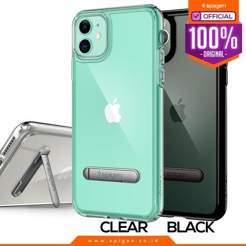 Foto Produk Case iPhone 11 Pro Max/11 Pro/11 Spigen Ultra Hybrid S Stand Casing - 11 Pro, Jet Black dari Spigen Official
