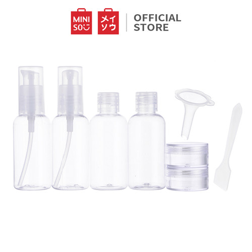 Foto Produk Miniso Official Portable 8 Piece Travel Bottle Set dari Miniso Indonesia