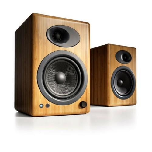 Foto Produk Audioengine A5 Plus bamboo - Active Desktop Speakers SSfx1133 dari Andarata