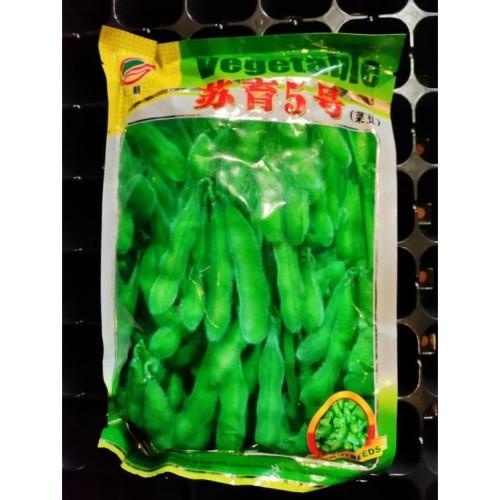 Foto Produk 30 Benih Biji Bibit Edamame 'SuYu 5' Eceran kacang kedelai jepang dari Biji Benih