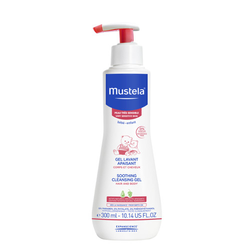 Foto Produk Mustela - Very Sensitive Skin CLEANSING GEL 300ml dari Chubby Baby Shop