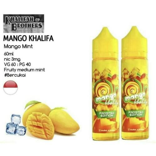 Foto Produk Mangoo Khalifaa Khalifah 60mℓ Manggo dari Cristopher Vaping