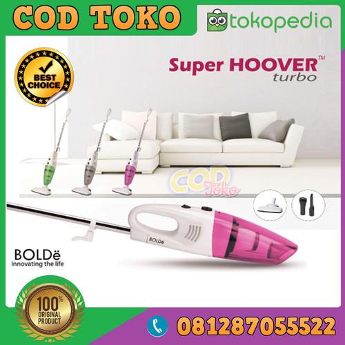 Foto Produk SUPER HOOVER TURBO Original BOLDe VACUUM CLEANER - VACUM NEW dari COD TOKO