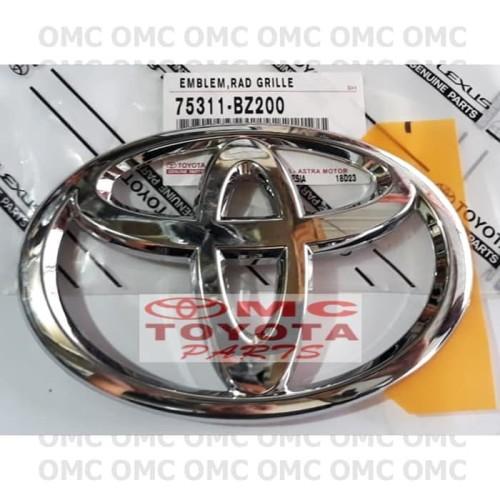 Foto Produk Emblem Logo Toyota Pintu Belakang Bagasi All New Avanza 75311-BZ200 dari OMC-Shop