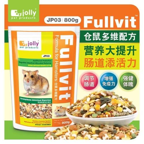 Foto Produk Jolly JP03 Fullvit Formula for Hamsters 800g dari Bakpao Rabbit