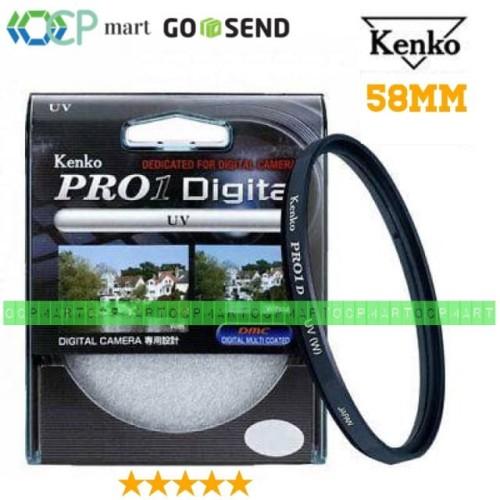 Foto Produk Filter UV Kenko Pro 1 Digital 58mm Canon 18-55mm Fujifilm 16-50mm dari ocp mart