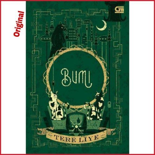 Foto Produk Original Novel Bumi By Tere Liye dari Showroom Books