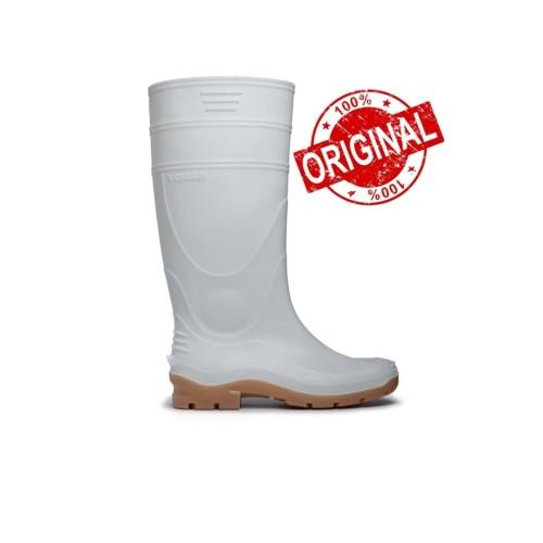 Foto Produk Sepatu Boot Karet AP Terra (Putih & Kuning) - Putih, 40 dari Central Safety