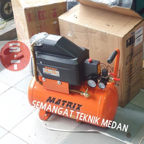 Foto Produk COMPRESSOR KOMPRESSOR KOMPRESOR UDARA PORTABLE MATRIX MTX 125 1HP dari Semangat Teknik