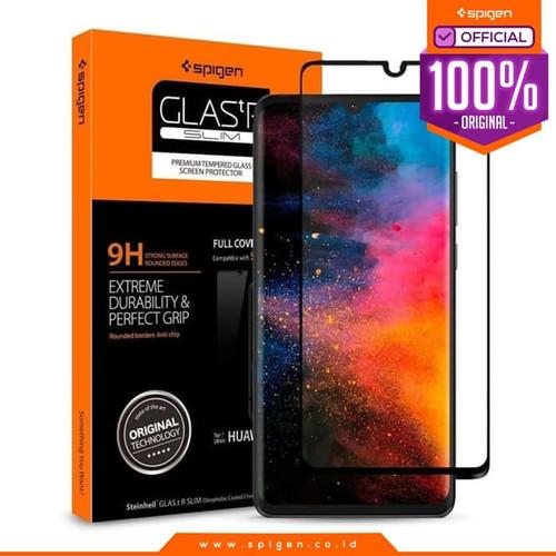 Foto Produk Tempered Glass P30 Pro / P30 Lite / P30 Spigen Glas tR Full Cover HD - P30 Pro dari Spigen Official