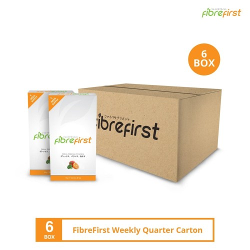 Foto Produk FibreFirst Weekly Quarter Carton (6 box) dari FibreFirst Official